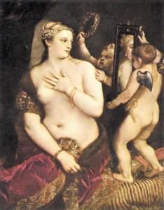 Лучше бы Северин не видел этой картины. Тициан. Венера с зеркалом. 1554–1555. Национальная галерея, Вашингтон