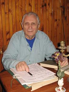 Метафизик, реалист, сторонник общинности Юрий Мамлеев. Фото: Елена Семенова, exlibris.ng.ru