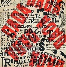 //ru.wikipedia.org Тео ван Дусбург. Плакат с объявлением вечера дадаистов