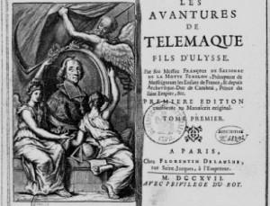 Иллюстрированное издание «Приключений Телемака». 1717 год © Bibliothèque nationale de France